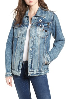 Hudson Jeans Oversize Denim Trucker Jacket