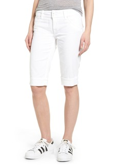 Hudson Jeans 'Palerma' Denim Shorts (White)