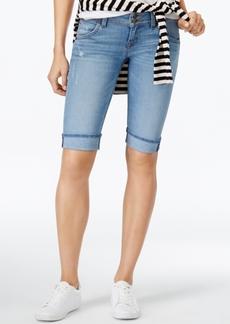 Hudson Jeans Palerme Ripped Bermuda Shorts
