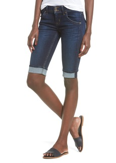 Hudson Jeans Palerme Rolled Knee Shorts (Urbanite)