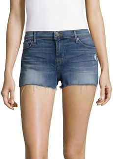 Hudson Jeans Raw Edge Hem Shorts