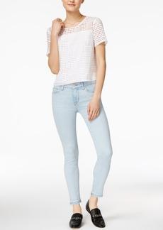 Hudson Jeans Released-Hem Skinny Jeans