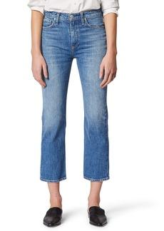 Hudson Jeans Remi High Waist Crop Straight Leg Jeans (Lullaby)
