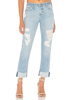 Hudson Jeans Riley Crop Relaxed Straight. - size 24 (also in 25,26,27,28,29)