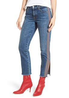 Hudson Jeans Riley Crop Straight Leg Jeans (Forgiver)