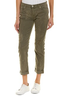 Hudson Jeans Riley Loden Green Relaxed Straight Leg
