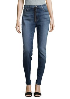 Hudson Jeans Ring Zip Jeans