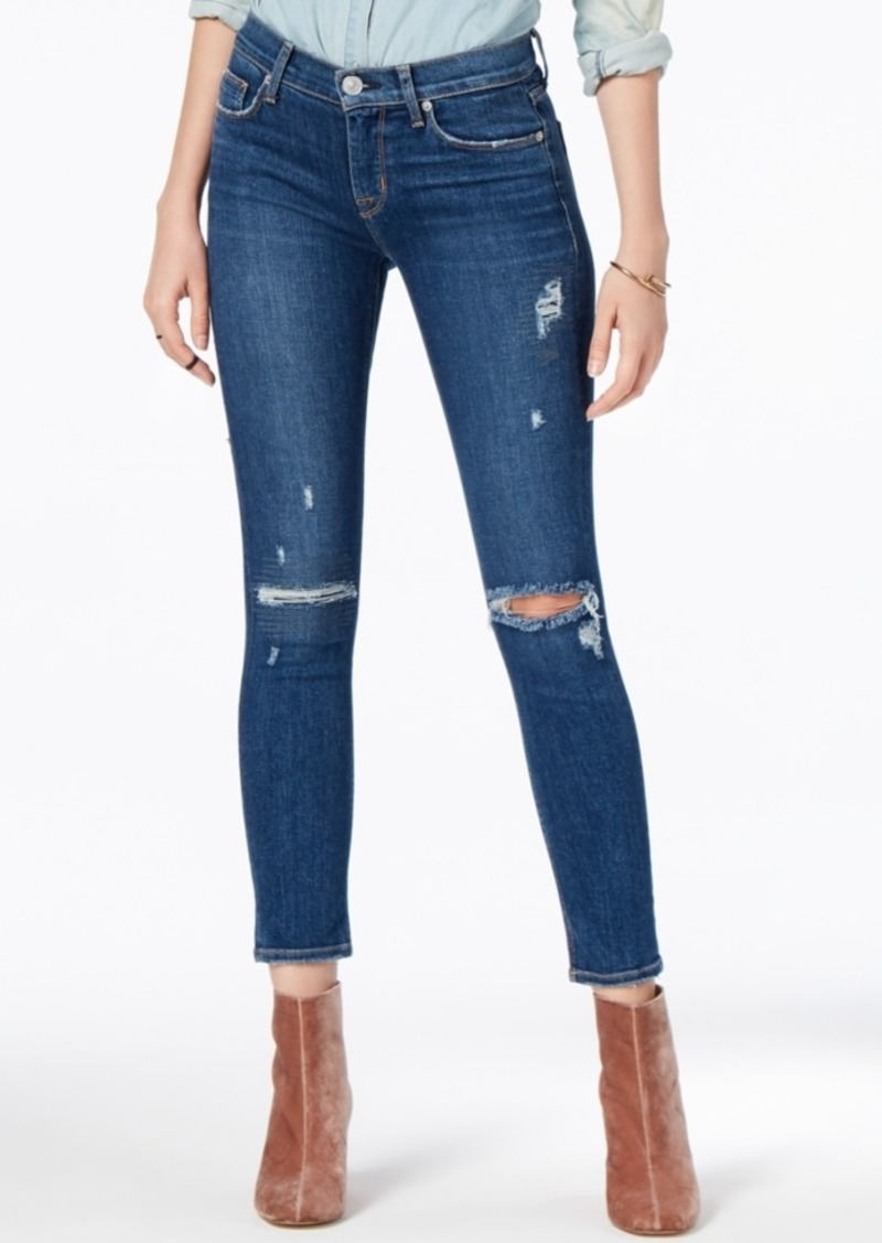 3028bdaefa4 SALE! Hudson Jeans Hudson Jeans Ripped Cropped Skinny Jeans