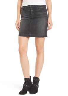 Hudson Jeans Robbie Cutoff Denim Miniskirt