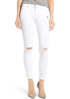 Hudson Jeans Roe Ankle Super Skinny Jeans (Strife 2)