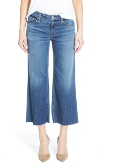 Hudson Jeans 'Sammi' Crop Wide Leg Jeans (Stingray)