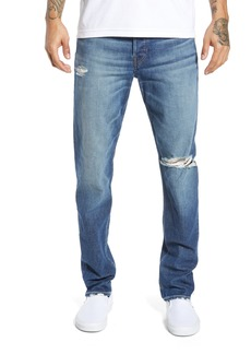 Hudson Jeans Sartor Ripped Skinny Fit Jeans (Wheeler)