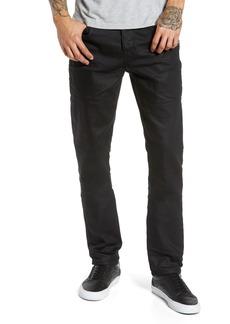 Hudson Jeans Sartor Skinny Fit Jeans (Blackened)