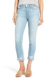 Hudson Jeans Savy Crop Skinny Jeans (Revolution)