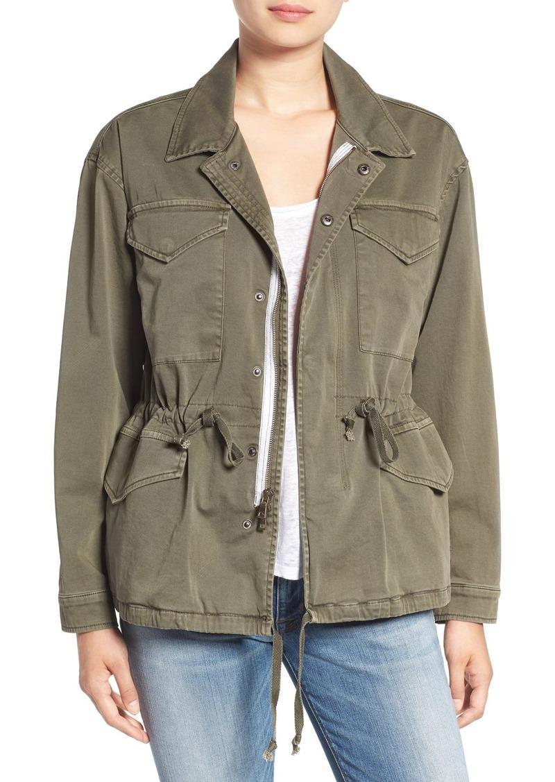 Hudson Jeans 'Sienna' Stretch Cotton Field Jacket