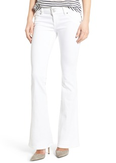 Hudson Jeans Signature Petite Bootcut Jeans (White)
