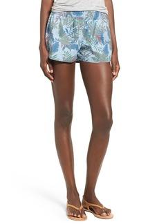Hudson Jeans 'Siouxsie' Floral Print Cotton Shorts
