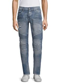 Hudson Jeans Skinny Distressed Biker Jeans