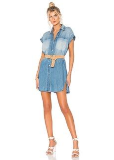Hudson Jeans Sleeveless Shirt Dress