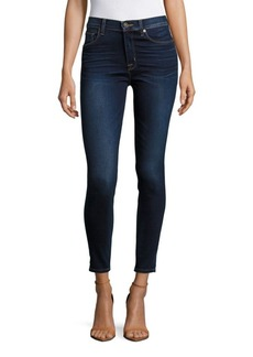 Hudson Jeans Solid Skinny Ankle Jeans
