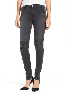 Hudson Jeans 'Stark' Moto Skinny Jeans (Disillusioned)