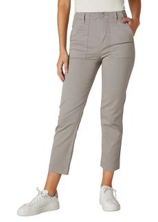Hudson Jeans Straight Leg Utility Jeans