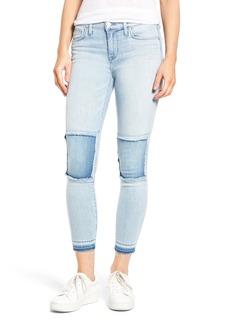 Hudson Jeans Szzi Mid Rise Patched Skinny Jeans (Venue)
