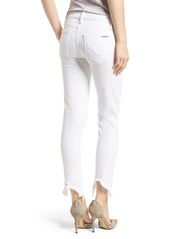 Hudson Jeans Tally Ankle Skinny Jeans (Destroyed Optical White)