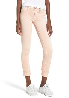 Hudson Jeans Tally Crop Skinny Jeans (Worn Rosewater)