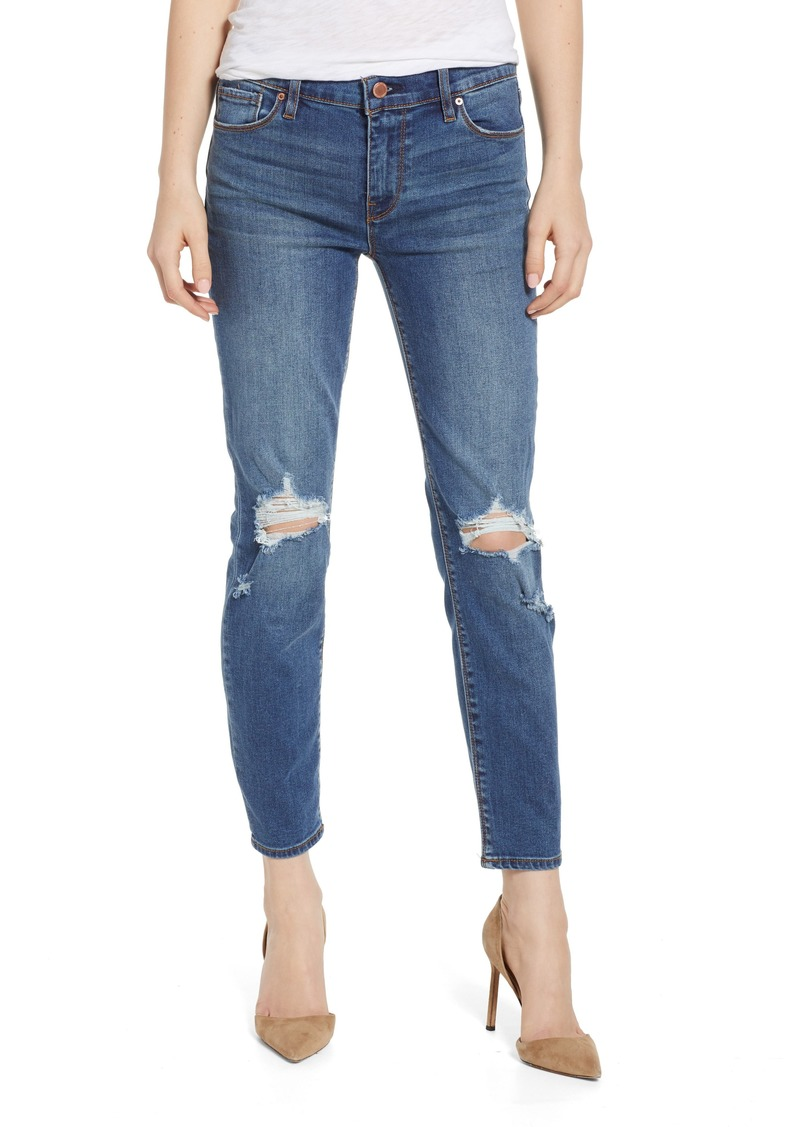 Hudson Jeans Tally Ripped Crop Skinny Jeans (Headliner)