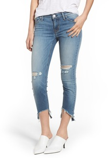 Hudson Jeans Tally Ripped Crop Skinny Jeans (Countdown)