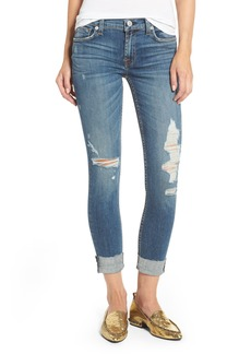 Hudson Jeans Tally Ripped Skinny Jeans (Optimize)