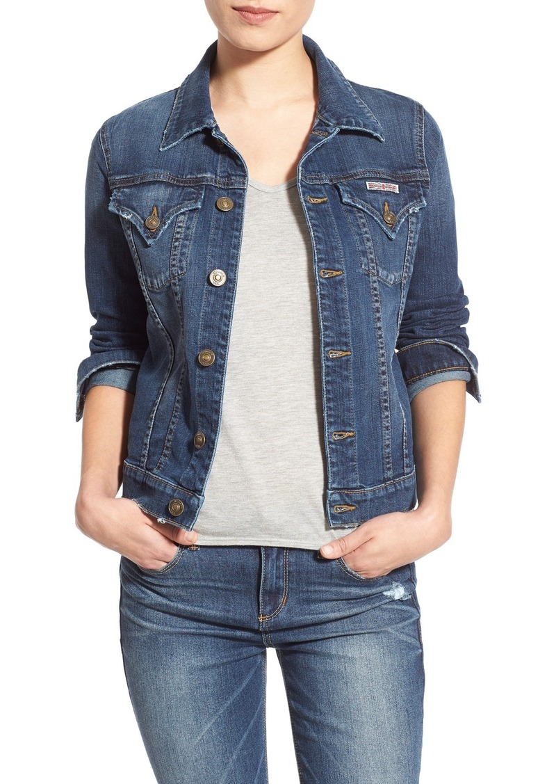 Hudson Jeans 'The Signature' Denim Jacket
