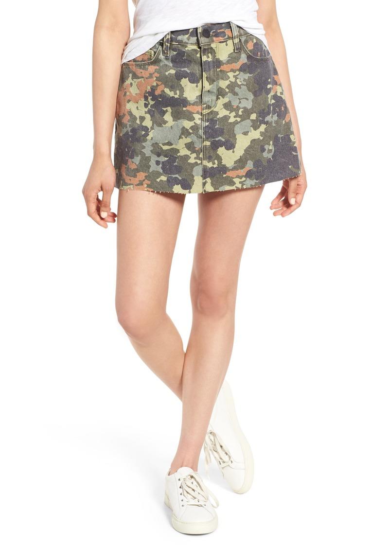 c8e364482 Hudson Jeans Hudson Jeans The Viper Camo Cutoff Denim Miniskirt
