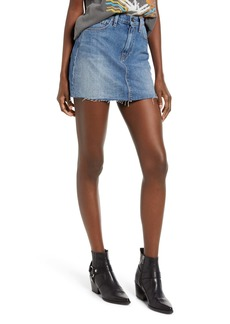 Hudson Jeans The Viper Cutoff Denim Miniskirt