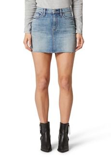 Hudson Jeans The Viper Denim Miniskirt