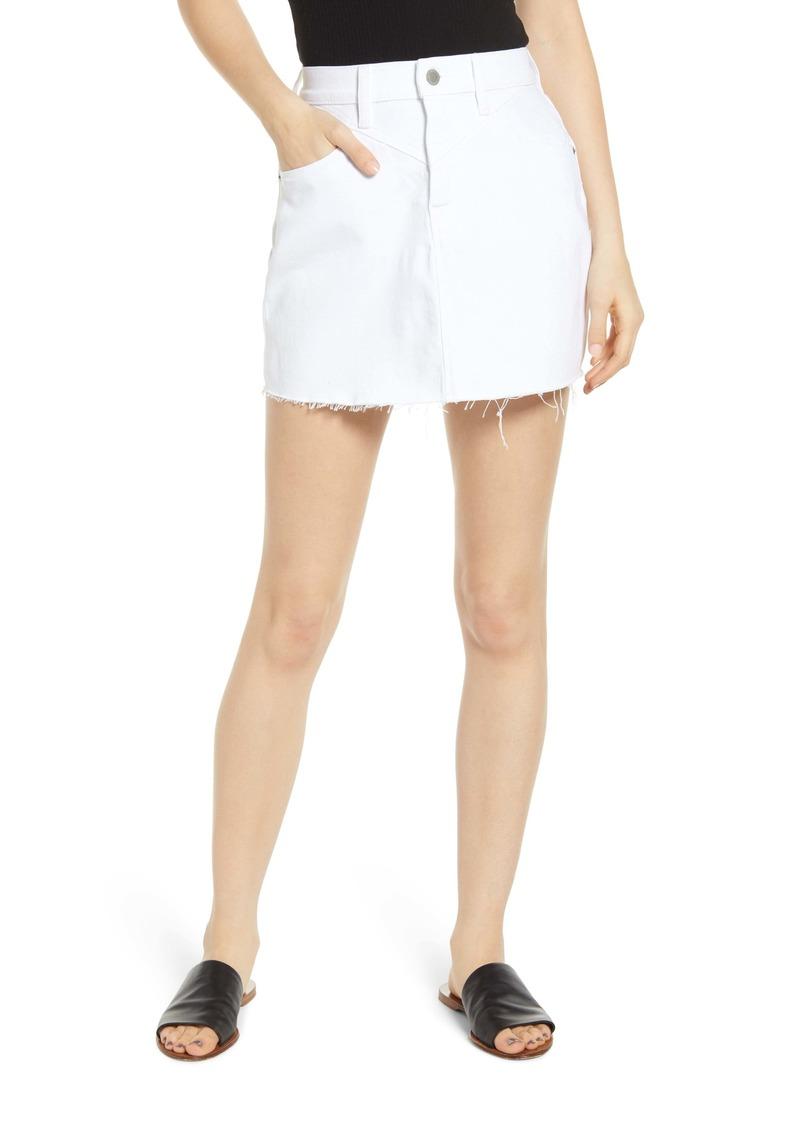 Hudson Jeans The Viper Denim Miniskirt