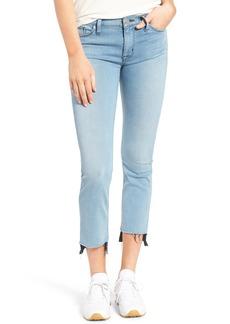 Hudson Jeans Tilda Crop Step Hem Straight Leg Jeans (Perk)