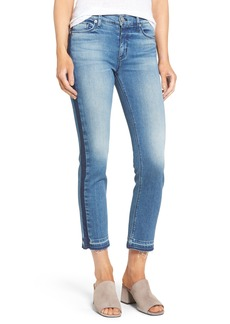 Hudson Jeans Tilda Crop Straight Leg Jeans (Impulse)