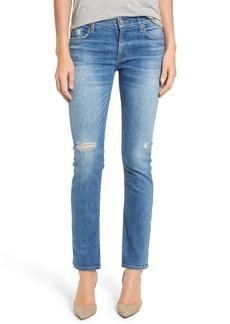 Hudson Jeans 'Tilda' Selvage Cigarette Jeans (Sea Spray)