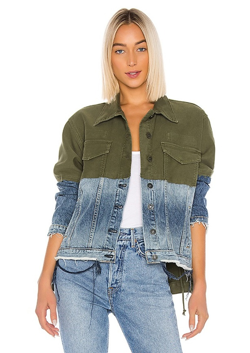Hudson Jeans Twill Denim Jacket Combo