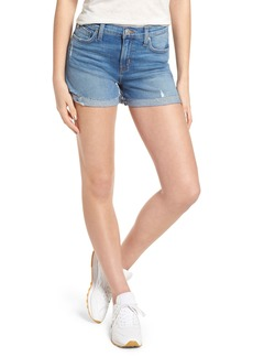 Hudson Jeans Valeri Cuff Denim Shorts (Proxy)
