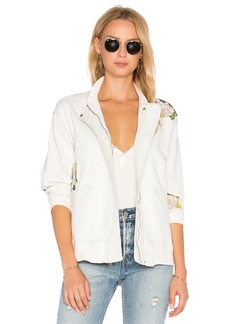 Hudson Jeans Varsity Embroidered Jacket