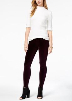 Hudson Jeans Velvet Skinny Jeans