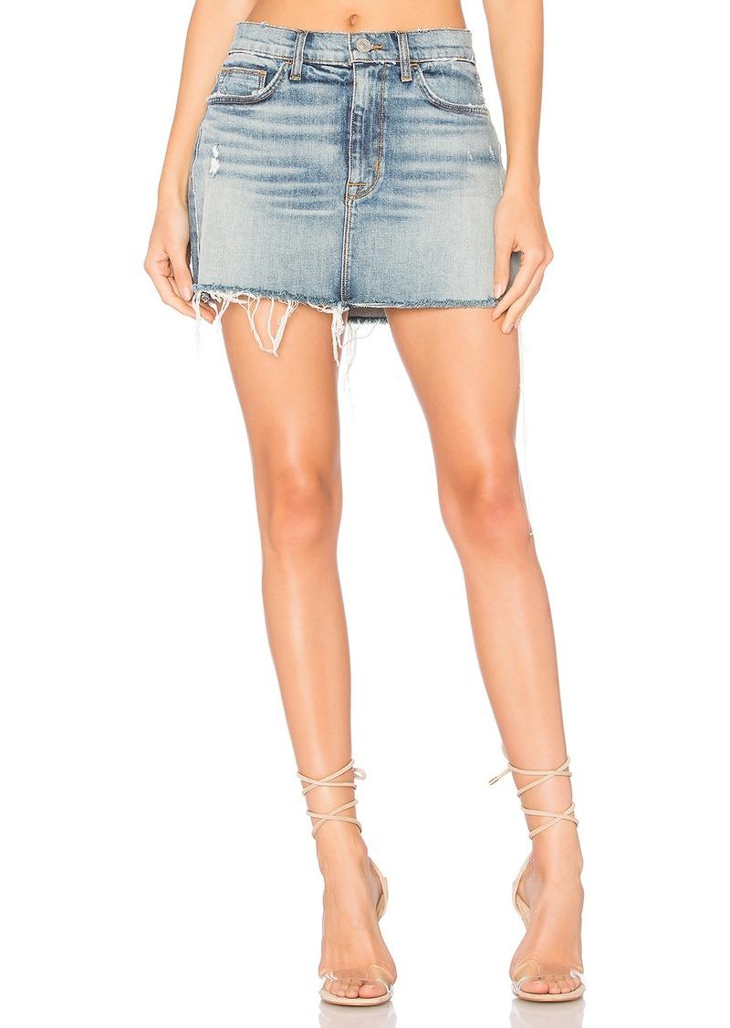 Hudson Jeans Vivid Mini Skirt