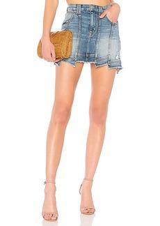 Hudson Jeans Weekend Step Hem Skirt