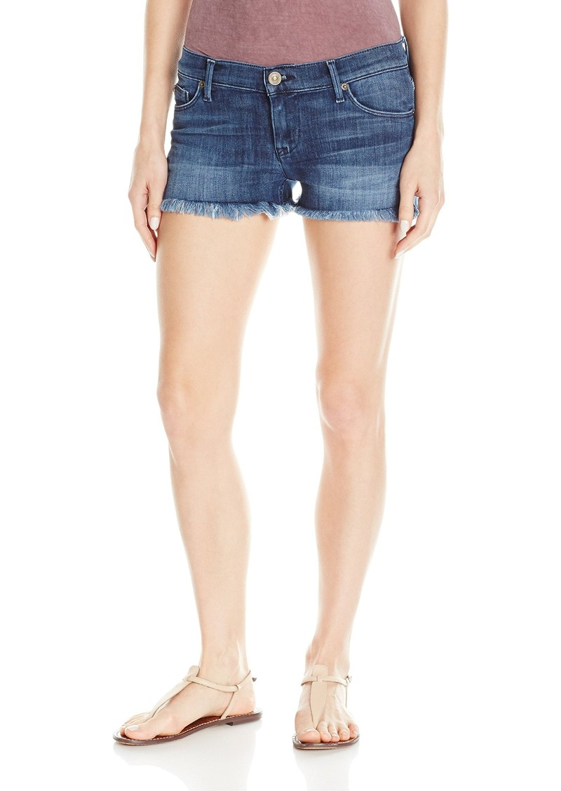HUDSON Jeans Women's Amber Raw Edge Hem 5 Pocket Jean Short  28
