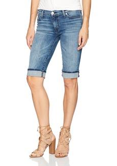 Hudson Jeans Women's Amelia Cuffed Knee Jean Short