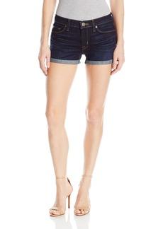 Hudson Jeans Women's Asha Midrise 5 Pocket Cuffed Short