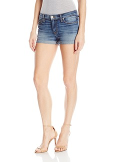 Hudson Jeans Women's Asha Midrise 5 Pocket Cuffed Short